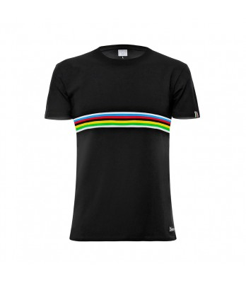 RAINBOW - T SHIRT BLACK