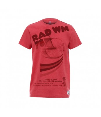 RAINBOW - T SHIRT RED