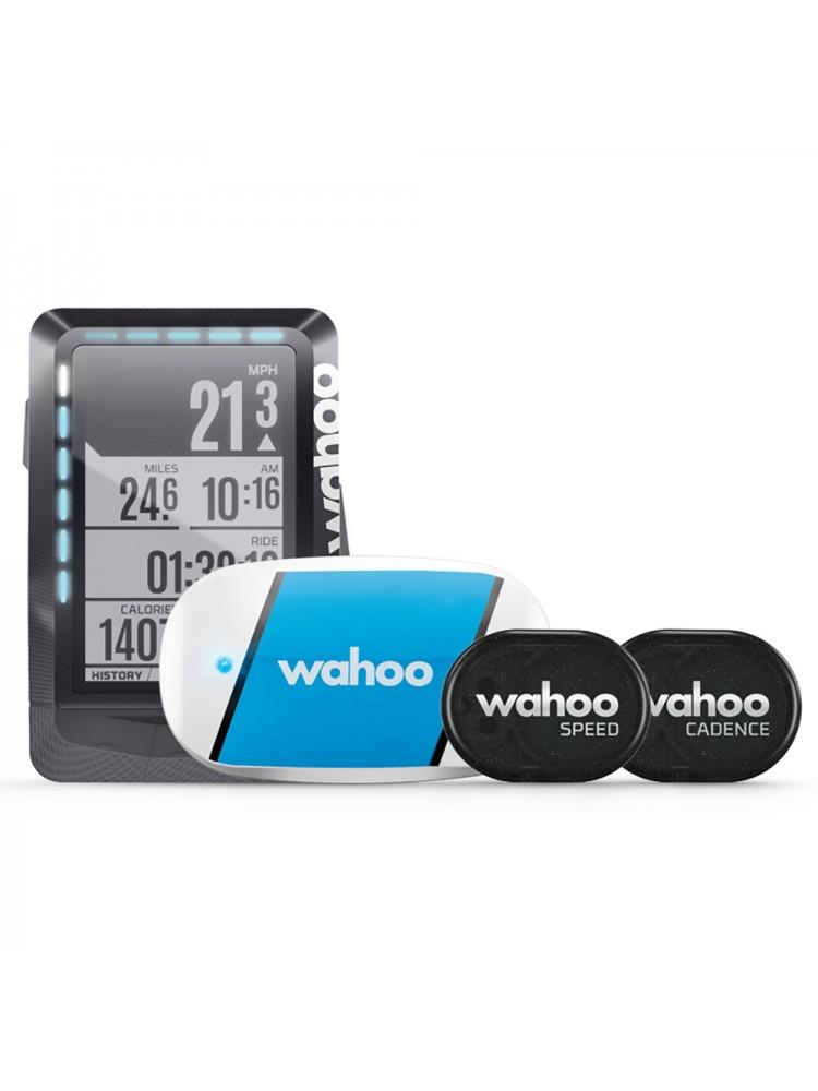 Wahoo Elemnt GPS bike computer bundle with tickr rpm speed/cadence