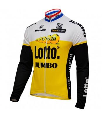 L/S jersey lotto jumbo 2016