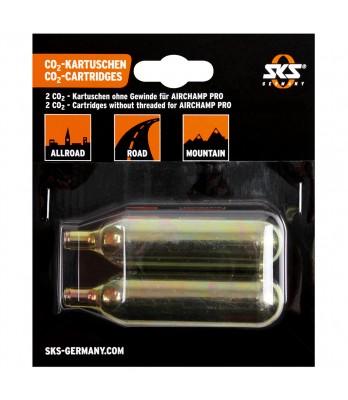 CO2 Cartridges 16g no thread