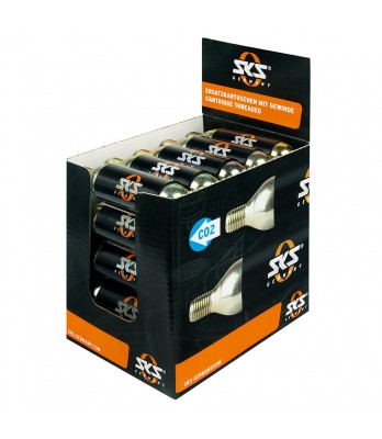 CO2 Cartridge 16g threaded