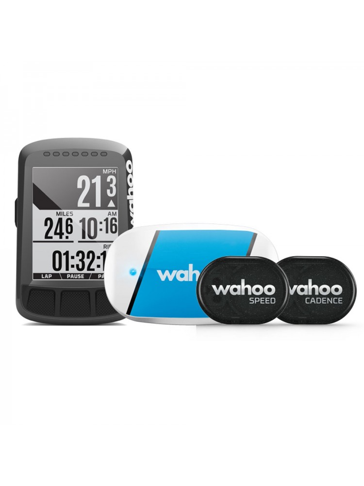 Wahoo Elemnt Bolt Cycling computer Bundle with TICKR/RPM