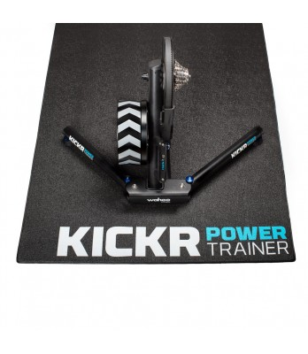 Wahoo Kickr trainer floor mat