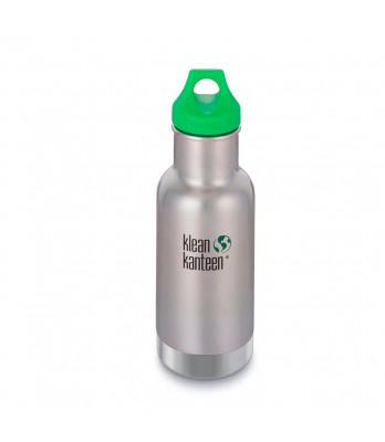 12oz Kid kanteen classic vacuum insulated w/green loop cap