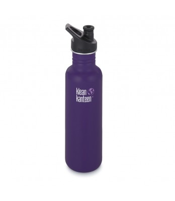 27oz Kanteen Classic Stainless w/sports cap 3.0