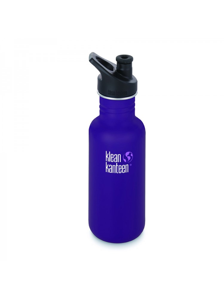 18oz Kanteen Classic Stainless w/sports cap 3.0