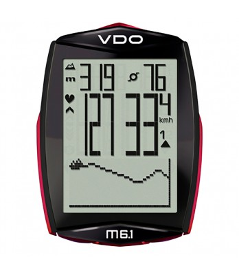VDO M6.1 WL Bundle w/heart rate